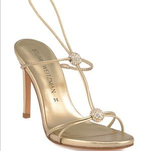 Stuart Weitzman Light gold sandals